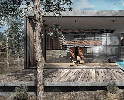 山地建筑设计&表现欣赏