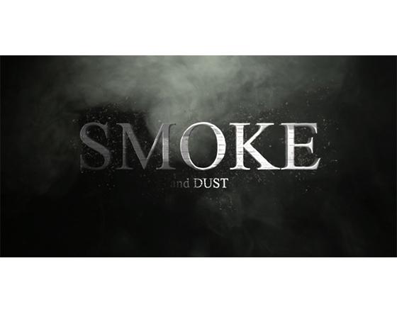 烟雾中的金属文字或LOGO展示AE模板