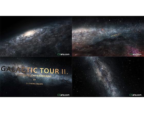 无边无际的宇宙星空特效AE模板