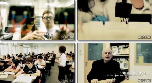 学校环境以及学习氛围宣传片