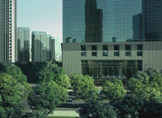 城市景觀動畫片段
