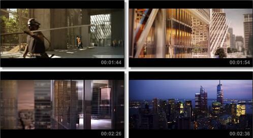国外施工动画片段