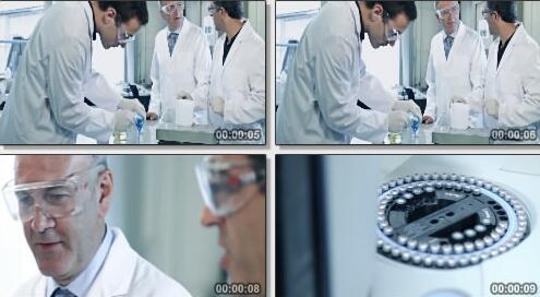 实验室医药研究实拍片段