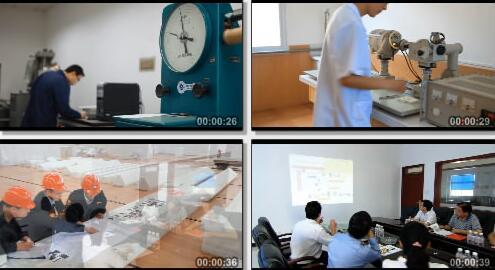 工业产品生产研发过程实拍片段