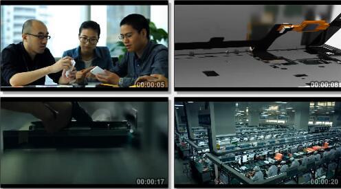 手机生产过程实拍片段