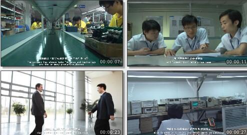 电路板生产过程实拍片段