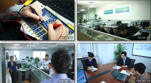 电子科技产品研发过程实拍片段