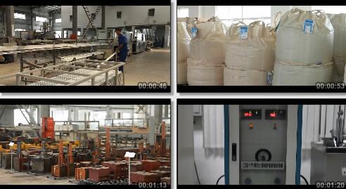 水管生产车间工作情况实拍片段